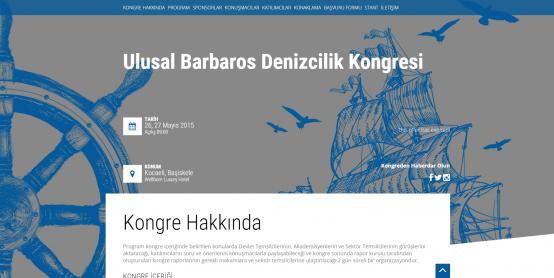 ULUSAL BARBAROS DENİZCİLİK KONGRESİ
